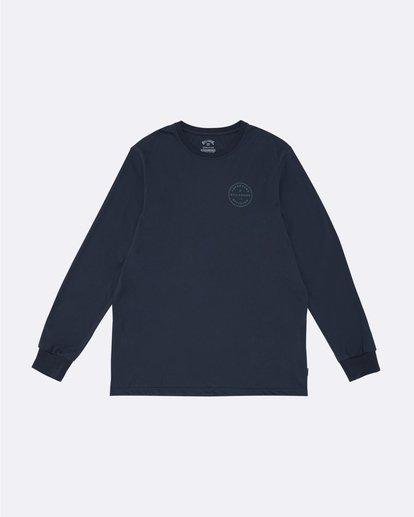 0 Rotor Adiv - Camiseta de manga larga para Hombre Azul S1LS18BIP0 Billabong