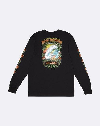 1 Pipe Master Tube - Long Sleeve T-Shirt for Men Black S1LS22BIP0 Billabong
