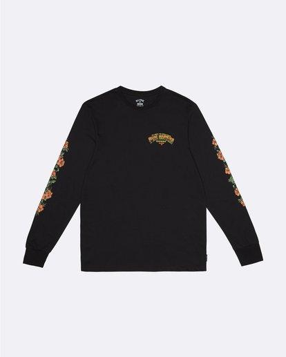 0 Pipe Master Tube - Long Sleeve T-Shirt for Men Black S1LS22BIP0 Billabong