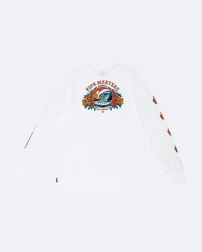 1 Pipe '19 - Long Sleeve T-Shirt for Men White S1LS23BIP0 Billabong