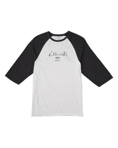 3 Master Of Puppets - Baseball T-Shirt für Männer Schwarz S1LS30BIP0 Billabong