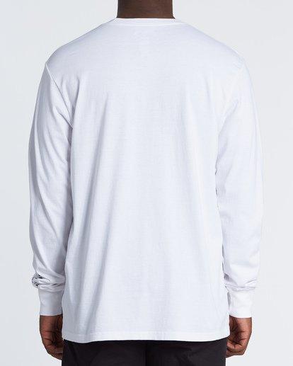 1 AI Metallica - Long Sleeve T-Shirt for Men Weiss S1LS31BIP0 Billabong