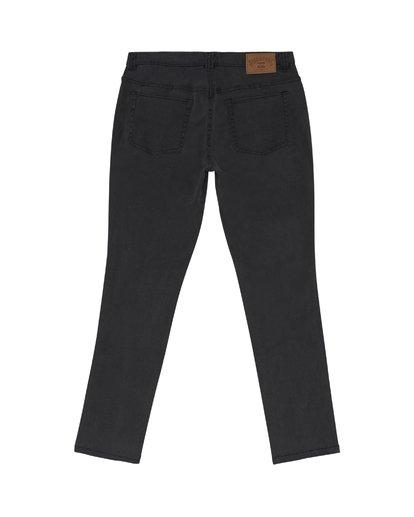 3 Outsider - Schmale Slim Fit Jeans für Herren Schwarz S1PN01BIP0 Billabong