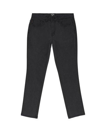 2 Outsider - Schmale Slim Fit Jeans für Herren Schwarz S1PN01BIP0 Billabong