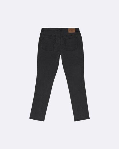 1 Outsider - Schmale Slim Fit Jeans für Herren Schwarz S1PN01BIP0 Billabong