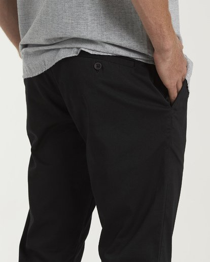 3 Carter Stretch  - Chinos für Herren Schwarz S1PT03BIP0 Billabong