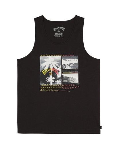 2 Crash - Camiseta para Hombre Negro S1SG07BIP0 Billabong