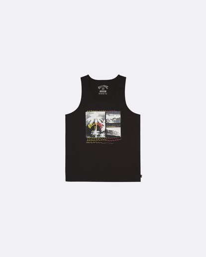 0 Crash - Camiseta para Hombre Negro S1SG07BIP0 Billabong