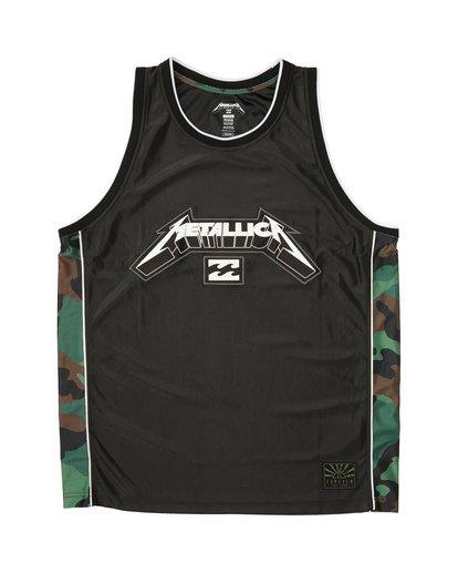 3 Metallica AI - Tank-Top für Herren Schwarz S1SG14BIP0 Billabong