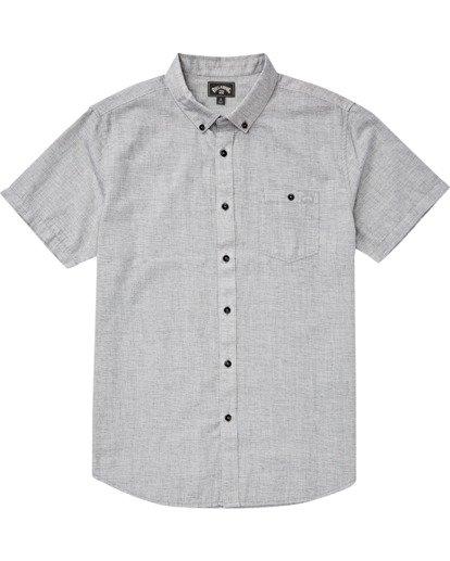 2 All Day - Camisa de manga corta para Hombre Gris S1SH01BIP0 Billabong
