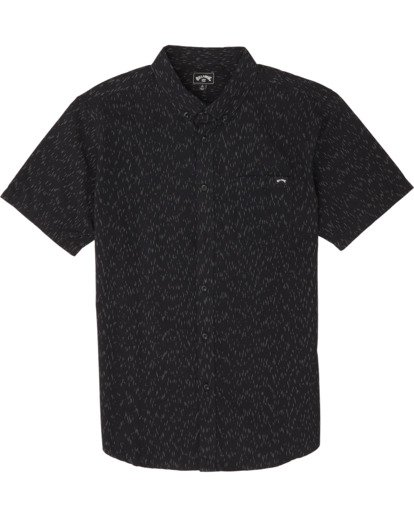 2 All Day - Camisa de manga corta para Hombre Negro S1SH01BIP0 Billabong