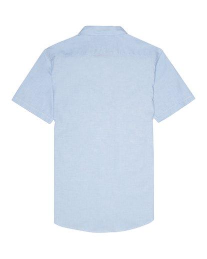 3 All Day - Kurzärmeliges Hemd für Herren Blau S1SH01BIP0 Billabong