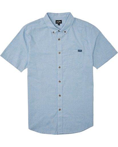 2 All Day - Kurzärmeliges Hemd für Herren Blau S1SH01BIP0 Billabong
