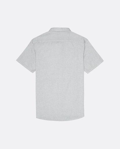 1 All Day - Camisa de manga corta para Hombre Gris S1SH01BIP0 Billabong