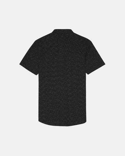 1 All Day - Camisa de manga corta para Hombre Negro S1SH01BIP0 Billabong