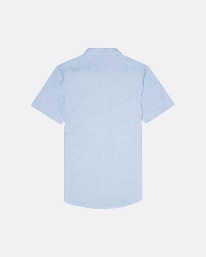 1 All Day - Kurzärmeliges Hemd für Herren Blau S1SH01BIP0 Billabong
