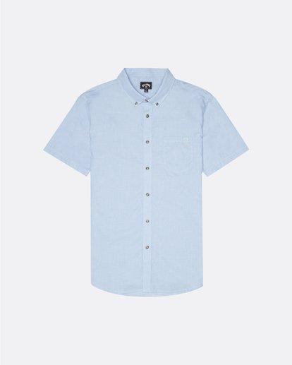 0 All Day - Kurzärmeliges Hemd für Herren Blau S1SH01BIP0 Billabong