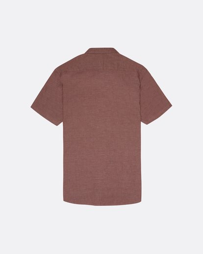 4 All Day - Camisa de manga corta para Hombre Marron S1SH01BIP0 Billabong