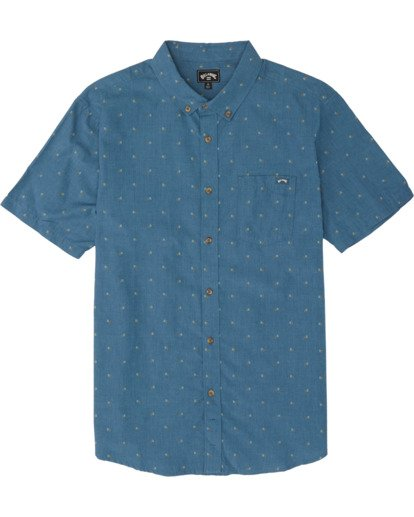 5 All Day Jacquard - Kurzärmeliges Hemd für Herren  S1SH03BIP0 Billabong