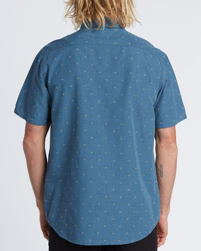 1 All Day Jacquard - Kurzärmeliges Hemd für Herren  S1SH03BIP0 Billabong