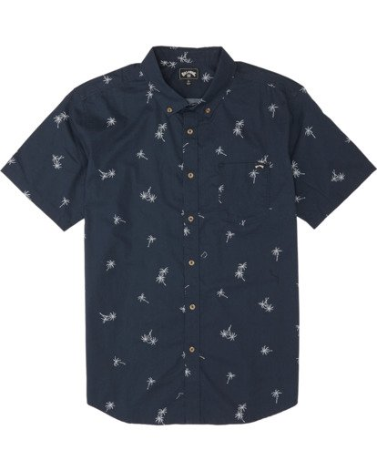 2 Sundays Mini - Kurzärmeliges Hemd für Herren Blau S1SH04BIP0 Billabong