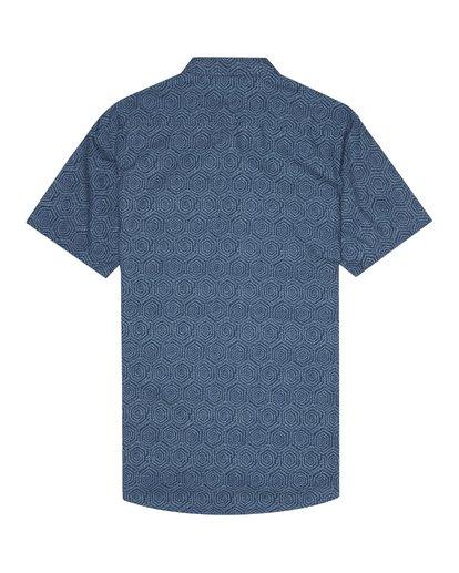 6 Sundays Mini - Chemise manches courtes pour Homme Bleu S1SH04BIP0 Billabong
