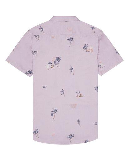 6 Sundays Mini - Short Sleeve Shirt for Men Pink S1SH04BIP0 Billabong