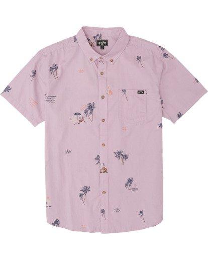 5 Sundays Mini - Short Sleeve Shirt for Men Pink S1SH04BIP0 Billabong