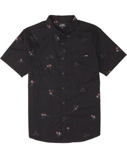 4 Sundays Mini - Kurzärmeliges Hemd für Herren Schwarz S1SH04BIP0 Billabong
