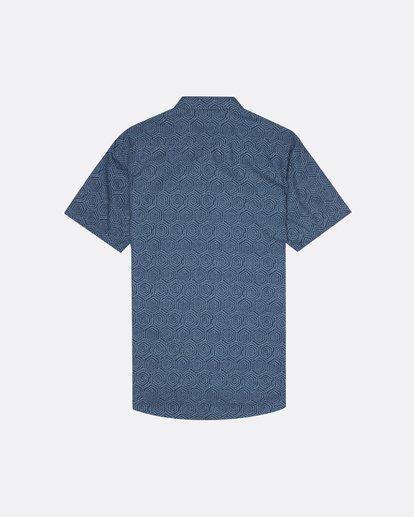4 Sundays Mini - Chemise manches courtes pour Homme Bleu S1SH04BIP0 Billabong