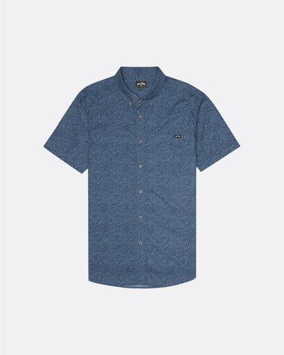 3 Sundays Mini - Chemise manches courtes pour Homme Bleu S1SH04BIP0 Billabong