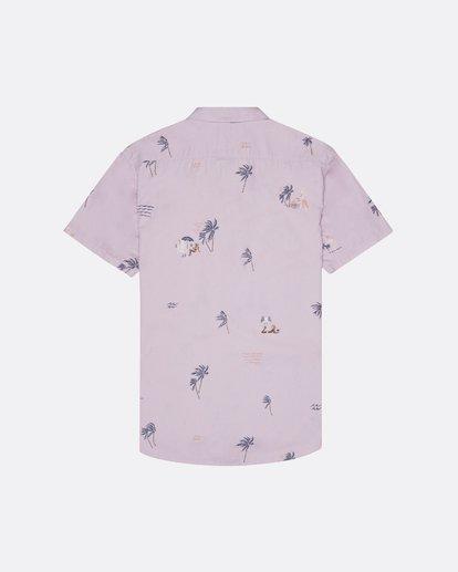 4 Sundays Mini - Kurzärmeliges Hemd für Herren Rosa S1SH04BIP0 Billabong