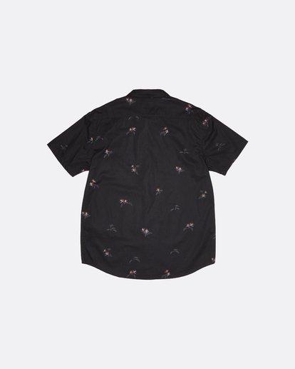 3 Sundays Mini - Kurzärmeliges Hemd für Herren Schwarz S1SH04BIP0 Billabong
