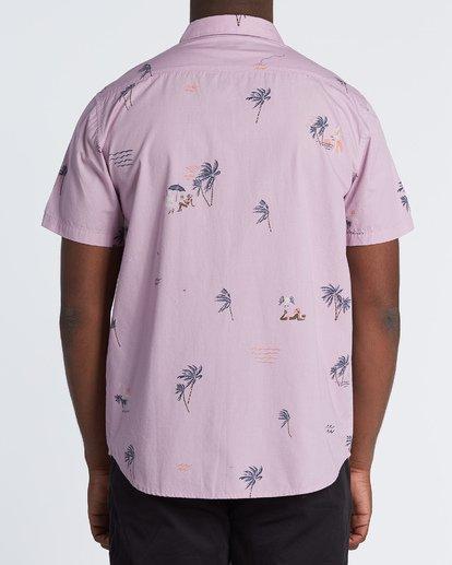 1 Sundays Mini - Camisa de manga corta para Hombre Rosa S1SH04BIP0 Billabong