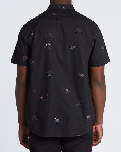 1 Sundays Mini - Kurzärmeliges Hemd für Herren Schwarz S1SH04BIP0 Billabong