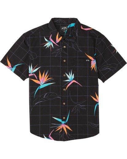 5 Sundays Floral - Kurzärmeliges Hemd für Herren  S1SH05BIP0 Billabong
