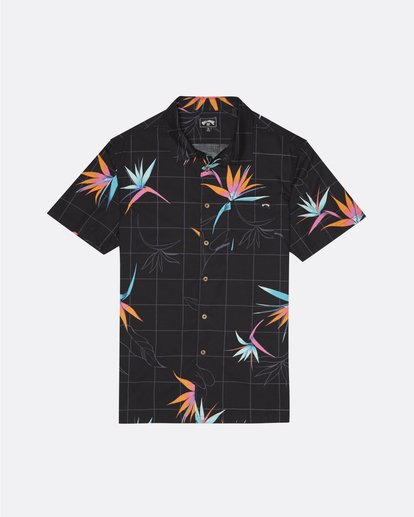 3 Sundays Floral - Kurzärmeliges Hemd für Herren  S1SH05BIP0 Billabong