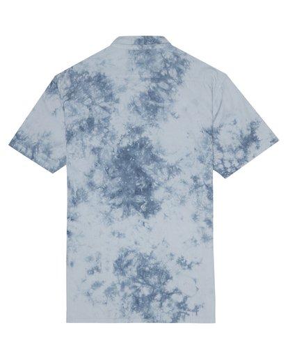 3 Sundays - Tie-Dye Shirt for Men Blue S1SH06BIP0 Billabong