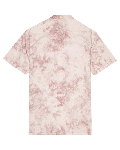 6 Sundays - Batik-Hemd für Herren Rosa S1SH06BIP0 Billabong