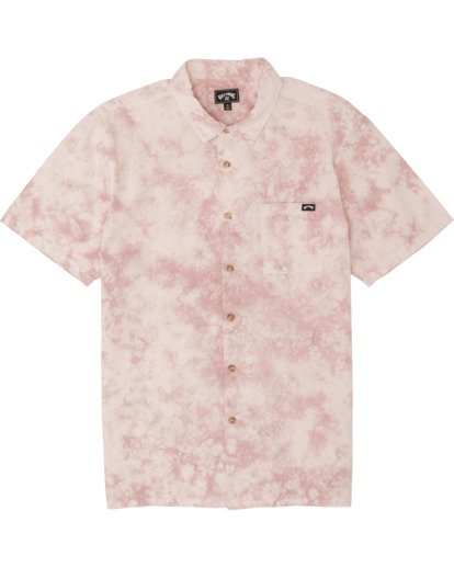 5 Sundays - Batik-Hemd für Herren Rosa S1SH06BIP0 Billabong