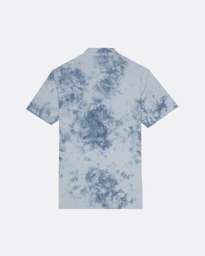 1 Sundays - Tie-Dye Shirt for Men Blue S1SH06BIP0 Billabong