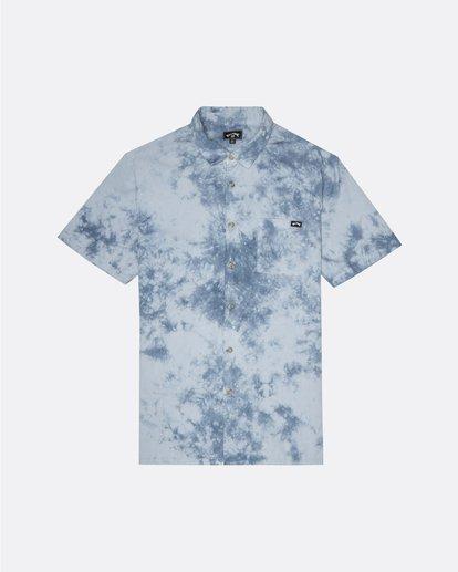 0 Sundays - Tie-Dye Shirt for Men Blue S1SH06BIP0 Billabong