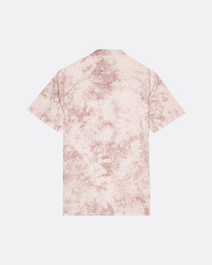 4 Sundays - Batik-Hemd für Herren Rosa S1SH06BIP0 Billabong