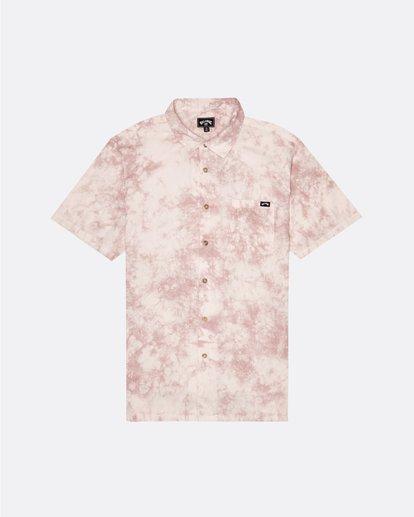 3 Sundays - Batik-Hemd für Herren Rosa S1SH06BIP0 Billabong