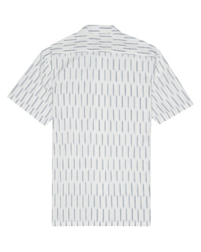6 Sundays Jacquard - Chemise manches courtes pour Homme Blanc S1SH09BIP0 Billabong