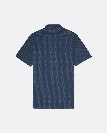 4 Sundays Jacquard - Camisa de manga corta para Hombre Azul S1SH09BIP0 Billabong