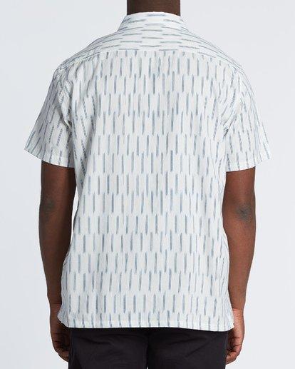 1 Sundays Jacquard - Chemise manches courtes pour Homme Blanc S1SH09BIP0 Billabong