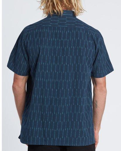 1 Sundays Jacquard - Camisa de manga corta para Hombre Azul S1SH09BIP0 Billabong