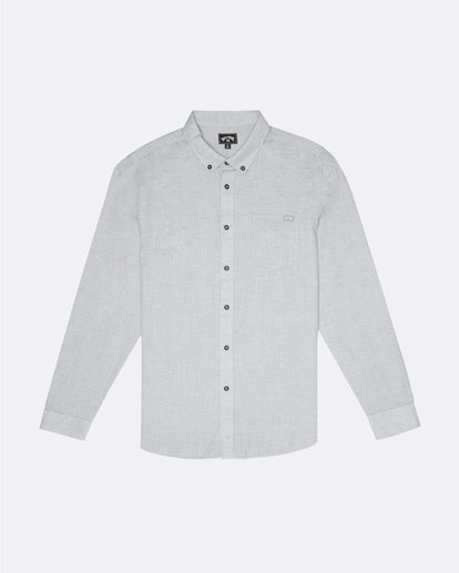 3 All Day - Camisa de manga larga para Hombre Gris S1SH11BIP0 Billabong