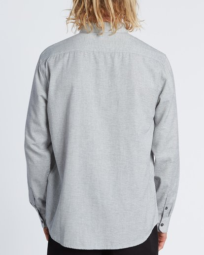 1 All Day - Camisa de manga larga para Hombre Gris S1SH11BIP0 Billabong